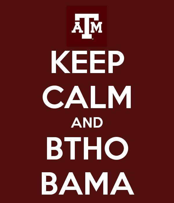 KEEP CALM AND BTHO BAMA