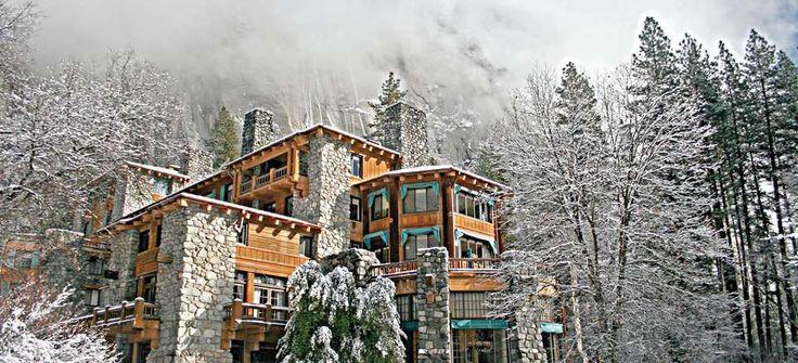 The Ahwahnee Hotel, Yosemite Valley, CA