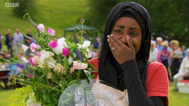 "Nadiya has won Bake Off 2015. | Nadiya's Speech At The End Of  ""Bake Off 2015"" Is So Very Touching"