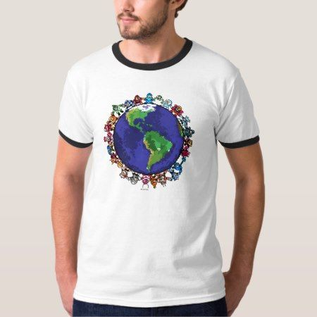 Around the World T-Shirt - click/tap to personalize and buy