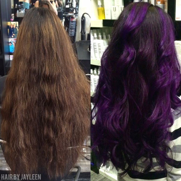 Professional Violet Hair Color
