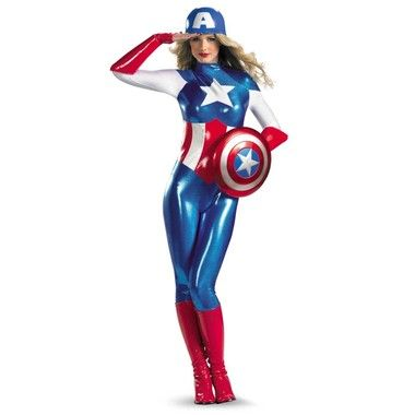 Captain America American Dream Adult Costume. Officially licensed Marvel costumes. www.CostumeDirect.com.au