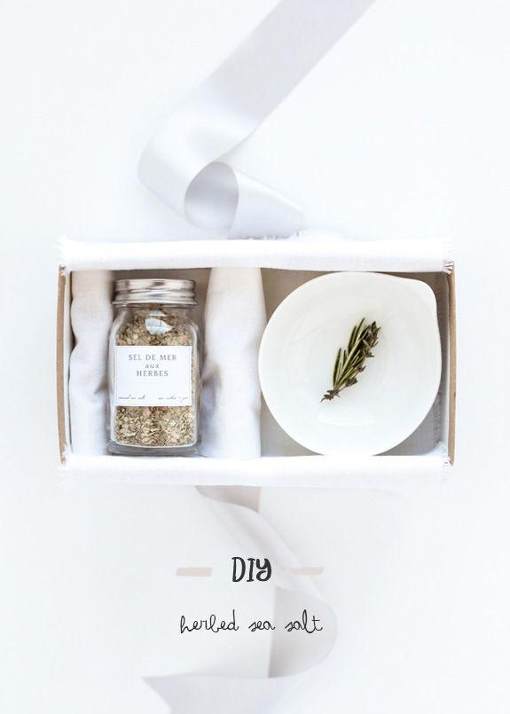 DIY herbed sea salt