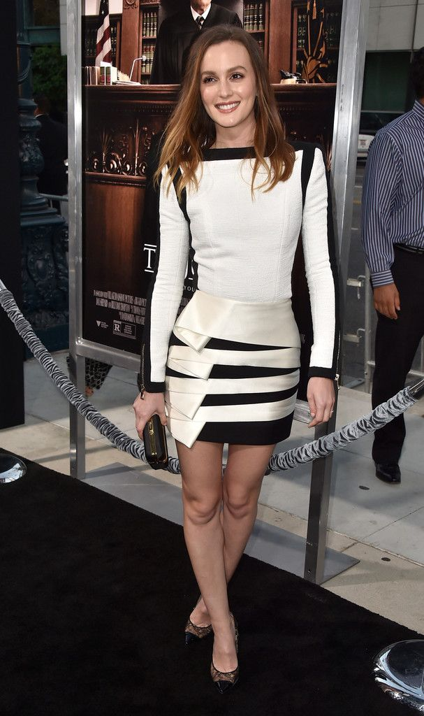 """Leighton Meester - Premiere Of Warner Bros. Pictures And Village Roadshow Pictures' """"The Judge"""""""