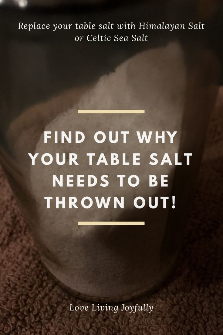 Is your salt stripping away your health? It might be! Click here to find out which salts harm your body and which salts benefit your body. Get rid of the bad salt and replace it with mineral salts!