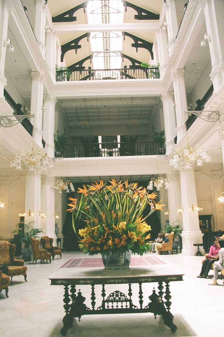 Maybe someplace hot and sultry like Raffles in Singapore? http://maryemartintrilogies.com