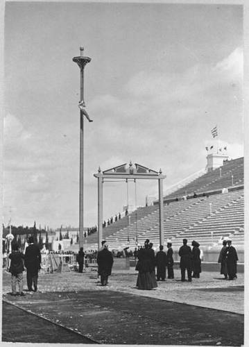 The First Olympics in 1896: Rope-Climbing