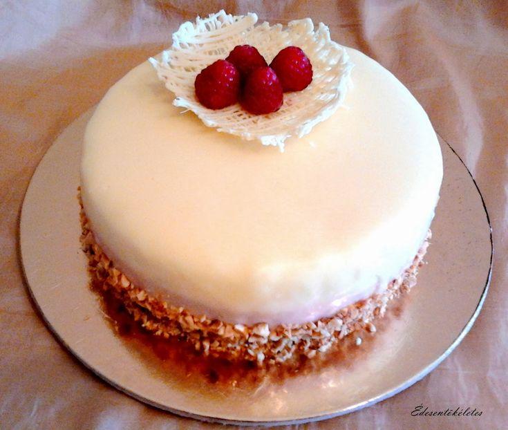 Édesentökéletes: Update Tripla M torta(málna-mascarpone mousse)