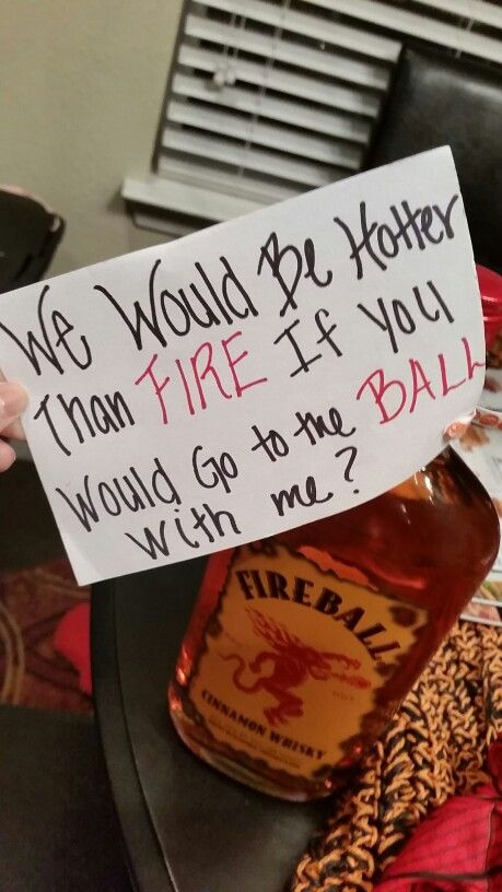 Ways to ask guys to formal
