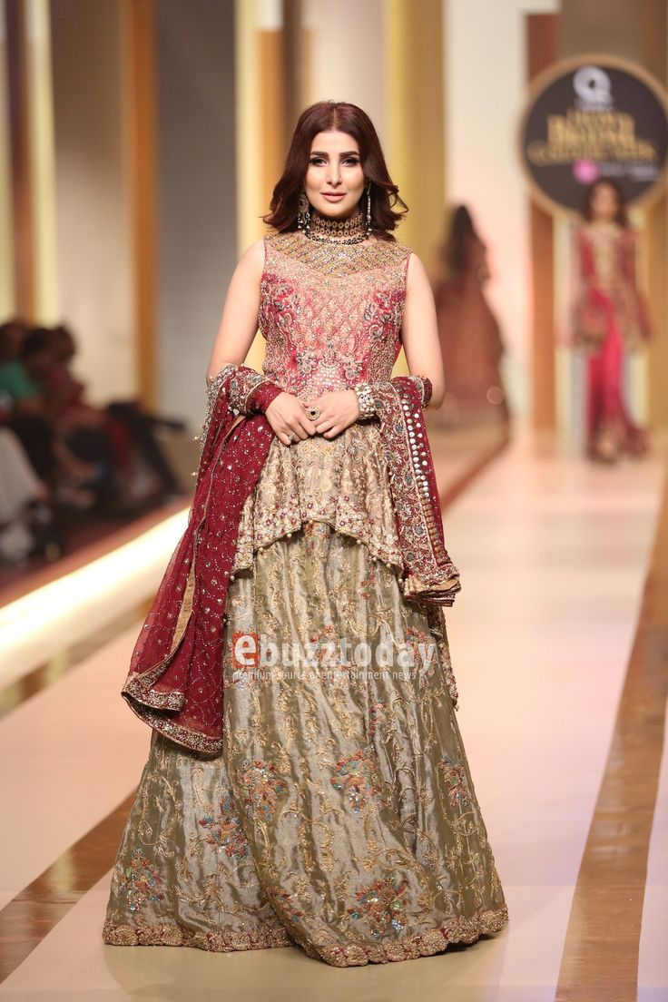 Uzma Babar at QMobile Bridal Couture Week 2017 Day Two