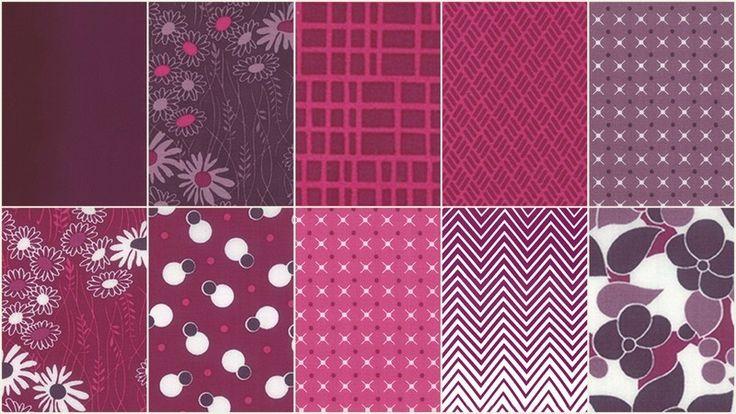 Simply Colorful II Purple Junior Jelly Roll - V & Co. - Moda Fabrics — Missouri Star Quilt Co.