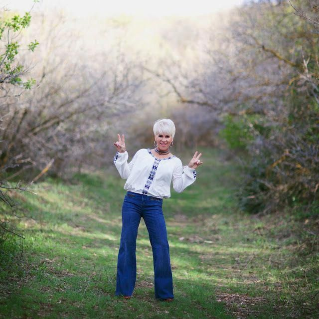 Energetic Style - Chic Over 50 | Fabulous After 40 I think the pink dress is too juvenile, but I like everything else! #fashionforwomenover50fiftynotf...
