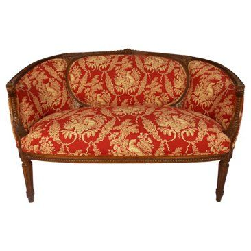 Check out this item at One Kings Lane! Louie XVI/ Pierre Frey Loveseat