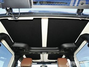 2011-2016 JK 2 Door Jeep Wrangler Hard Top Headliner Kit. insulates against hot & cold, quiets ride, easy install without removing top & looks great. Available in 5 colors.
