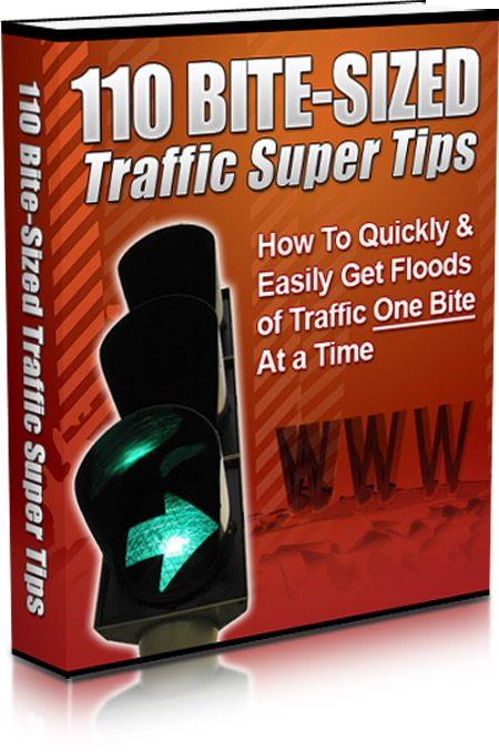 110 Traffic SuperTips. comment if wanting to purchase.