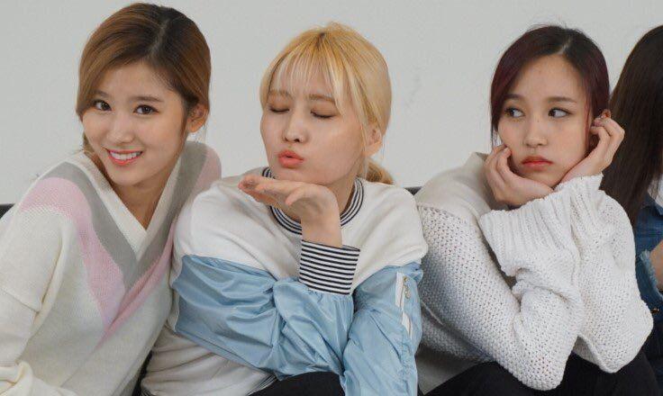 Sana, Momo and Mina ️ | Twice JYP | Pinterest | Kpop girls and Pop