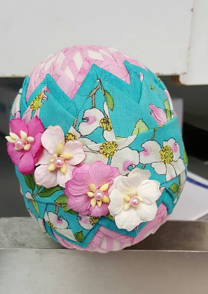 17 Best images about Quilted Easter Eggs on Pinterest The o jays, Ornaments and Blog
