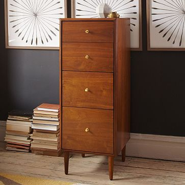 file under great for your home office our birkin filing cabinet balances style and utilitarian function with its rich walnut veneer - Small Filing Cabinet