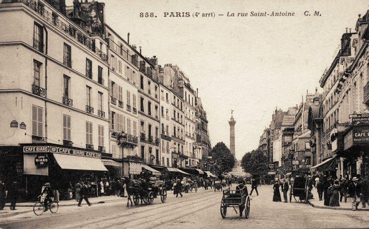 bastille saint-antoine history