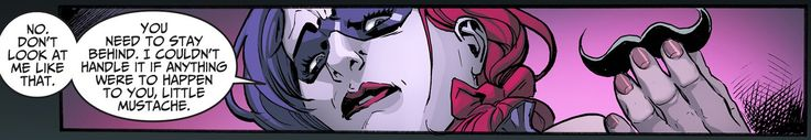 Injustice: Gods Among Us: Year Two issue 16 / No one should ever have to justify a fake mustache.