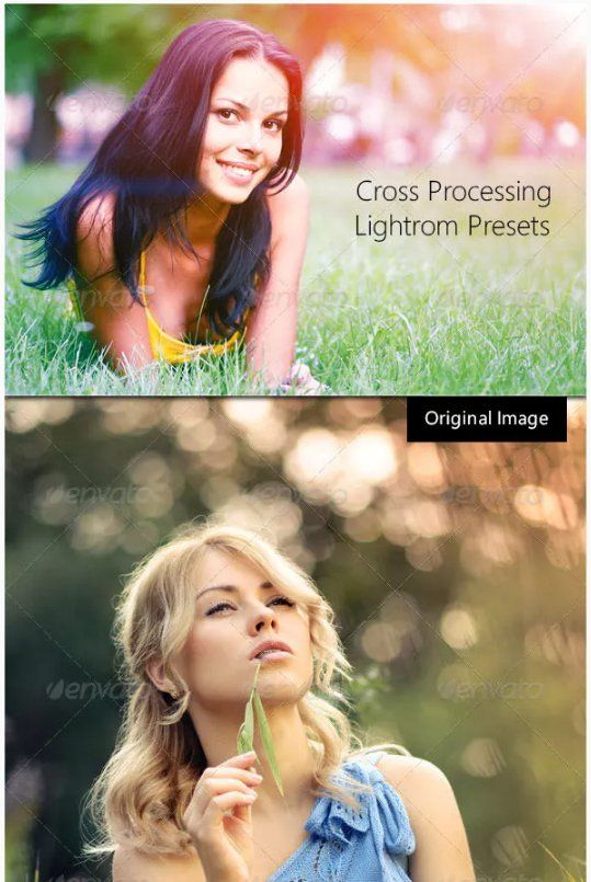 Advanced Cross-Processing Lightroom presets download free  zip for