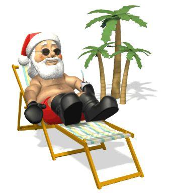 beach santa   Christmas Traditions in New Zealand