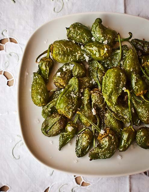 Easy to make and relatively easy to get hold of in the UK nowadays. Everyone loves padron peppers with coarse sea salt right?!