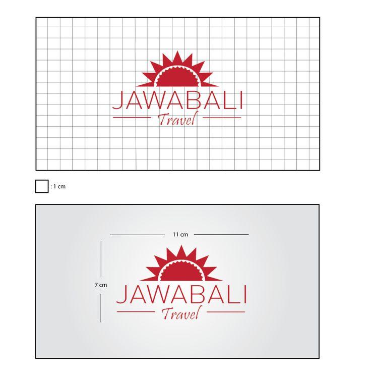 """Rancangan Desain Logo """"Jawabali Travel"""".. Jawabali Travel merupakan agen perjalanan domestik yang memberikan pelayanannya pada jasa transportasi darat se wilayah Jawa - Bali.."""