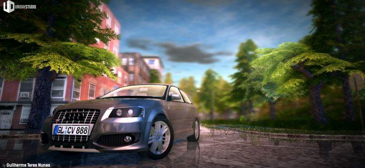 Blender Game Engine: The Island City | My Playground Scene