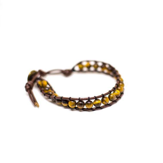 Tigress Wrap Bracelet by HoneysDead on Etsy