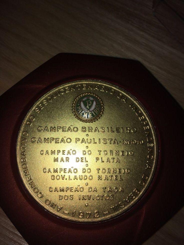 1972 Brasil Football Medal -Paulista Boxed Rare  Memorabilia World Cup Fifa Uefa    eBay
