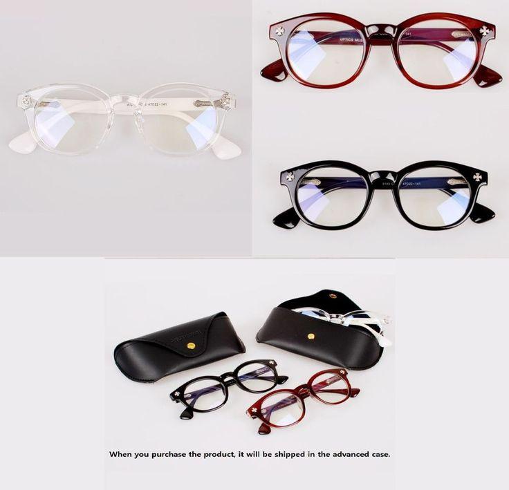 Vintage Retro Eyeglasses Women Men Glasses Fashion Eyewear Reading Spectacles #OPTICSMUSEUM