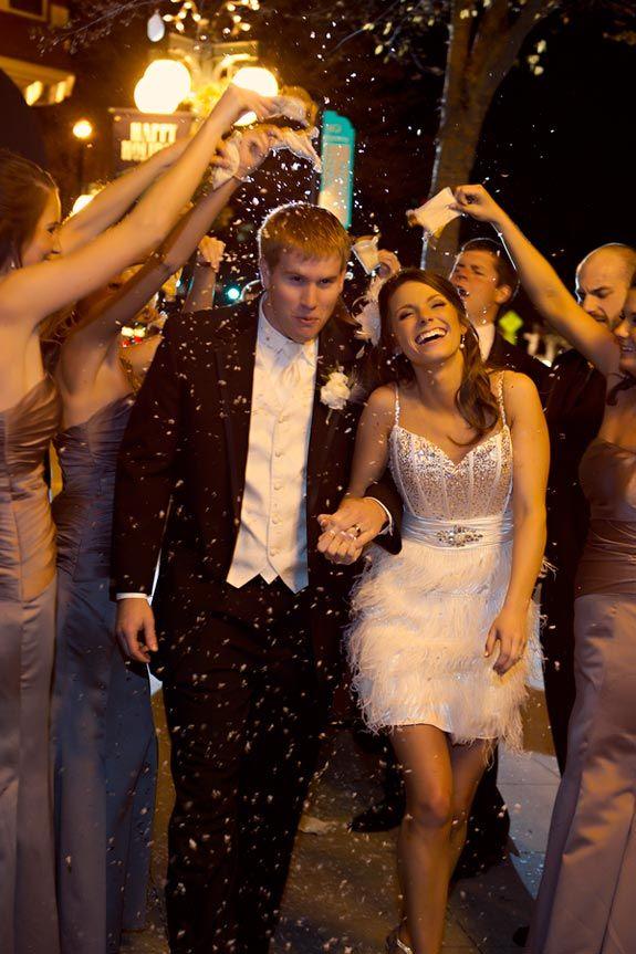 Love the reception wedding dress...