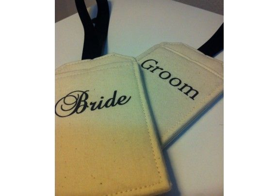 Destination Wedding Gift For Bride And Groom : Bride and Groom Luggage Tags, Wedding Party, Destination Wedding Gift ...