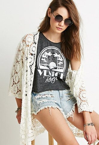 Venice Beach Muscle Tee   Forever 21 - 2000131835