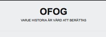 Åsa Blomqvists blogg om sin släktforskning