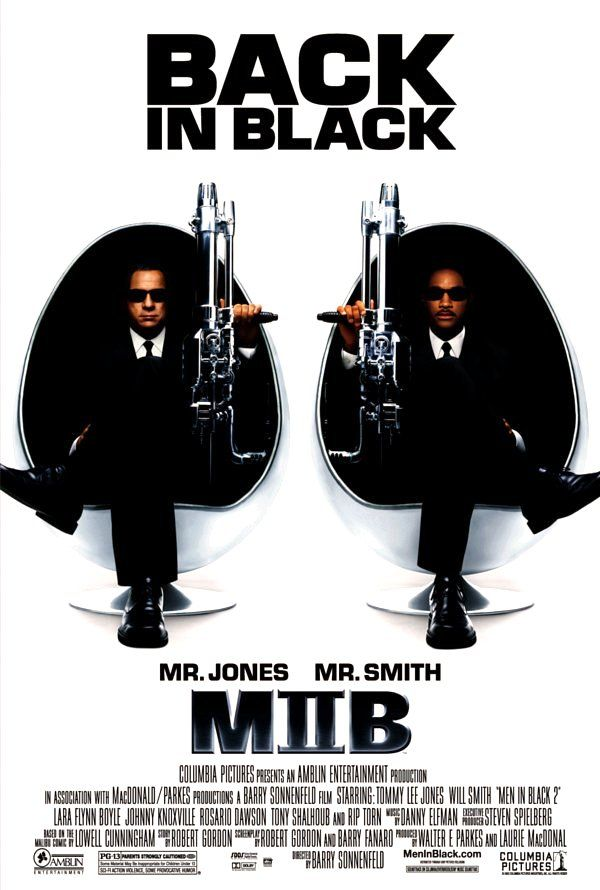 Directed by Barry Sonnenfeld.  With Tommy Lee Jones, Will Smith, Rip Torn, Lara Flynn Boyle. Agent J needs help so he is sent to find Agent K and restore his memory.