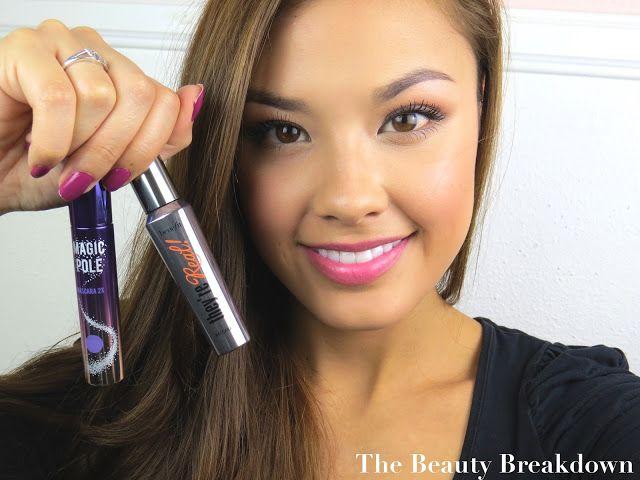 First Impressions: Holika Holika Magic Pole Mascara VS. Benefit They're Real Mascara Review - The Beauty Breakdown
