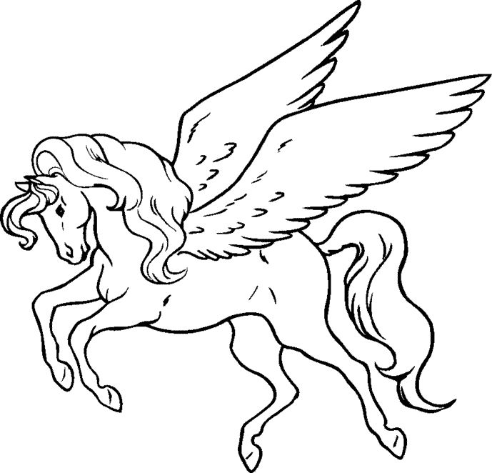 free printable pegasus coloring pages for kids enjoy coloring