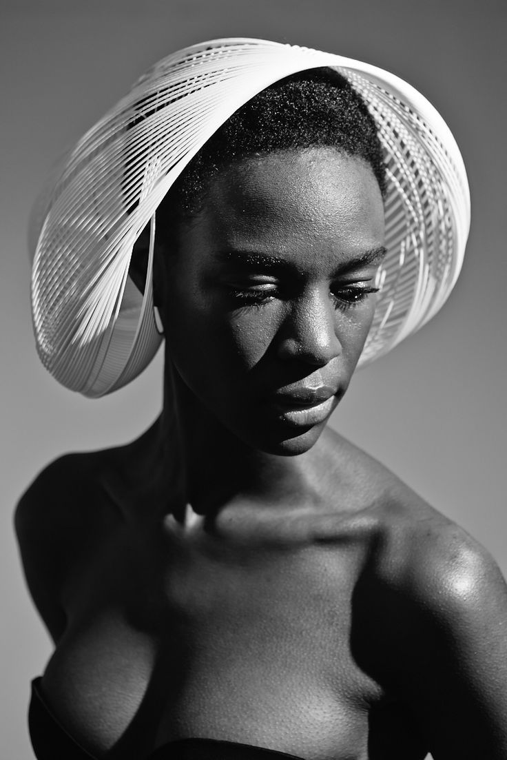 3D Printed Hats Collection by Gabriela Ligenza | Style #4 Amish