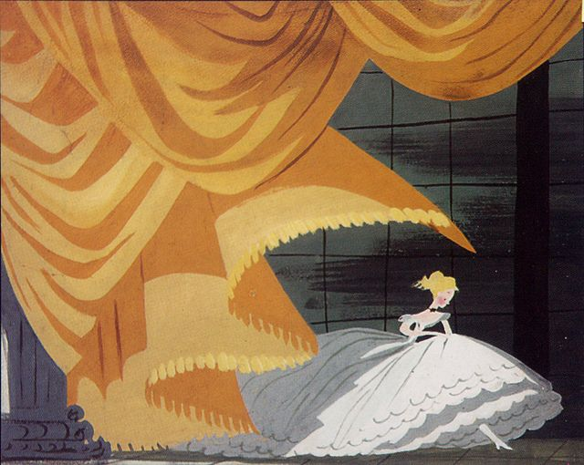 Mary Blair. From the storyboards of Cinderella, also posthumously published in Walt Disney's Cinderella by Cynthia Rylant.