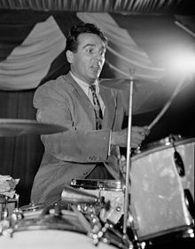 Gene Krupa 1/15/1909 - 10/16/1973   - One of the great jazz drummers, credited with bringing the drummer out of the background, and into focus as a featured performer. He led the way for Buddy Rich, and all the others!