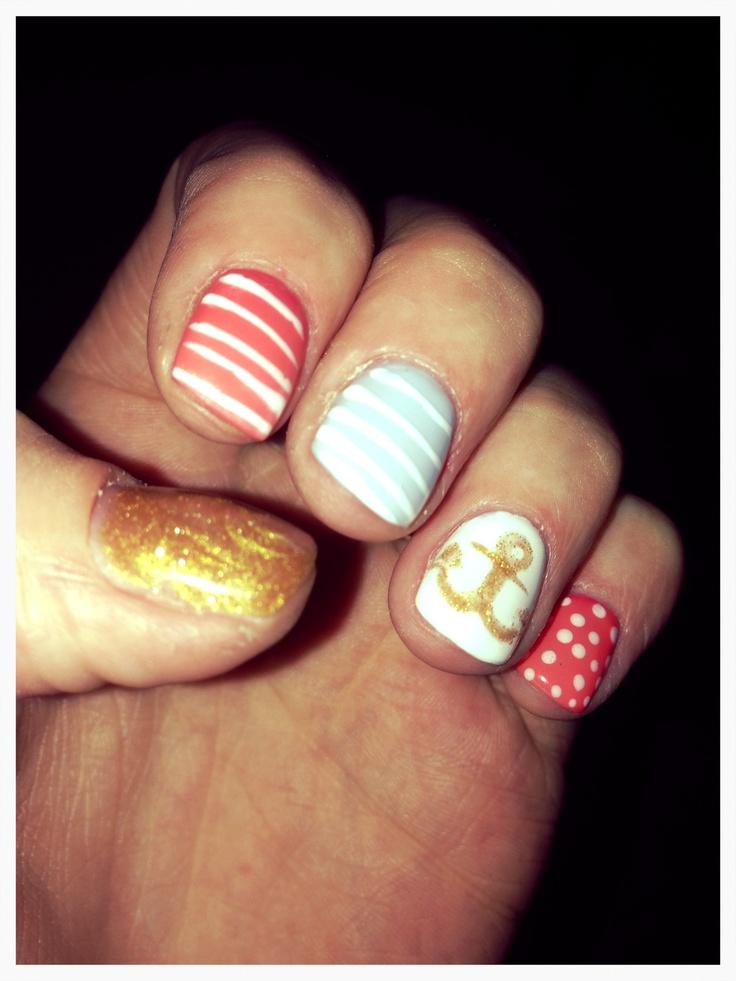 Nails 2013 sailor cuteness