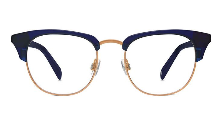 Warby Parker Addie Glasses in Lapis Crystal $145