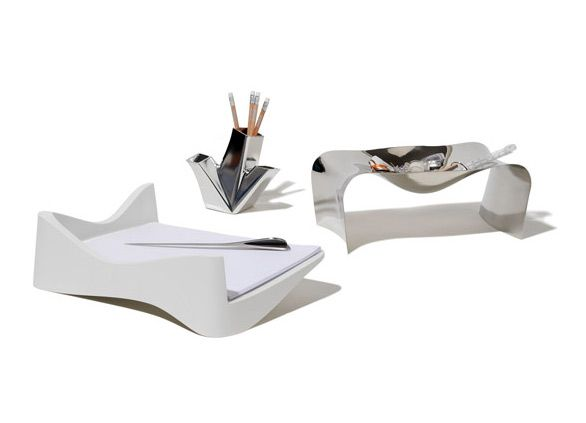 Trina pencil holder - Alessi at FormAdore.com