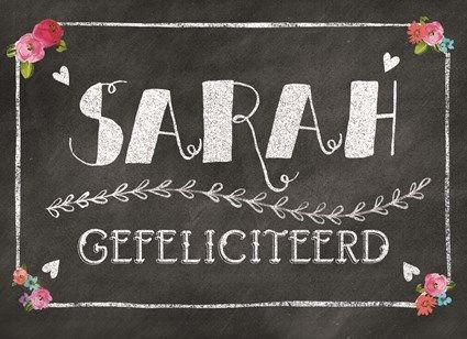 Ken jij een toekomstige Sarah? Feliciteer haar met deze kaart! #Hallmark…