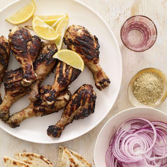 Grilled Tandoori-Style Chicken Drumsticks | Recipe ...