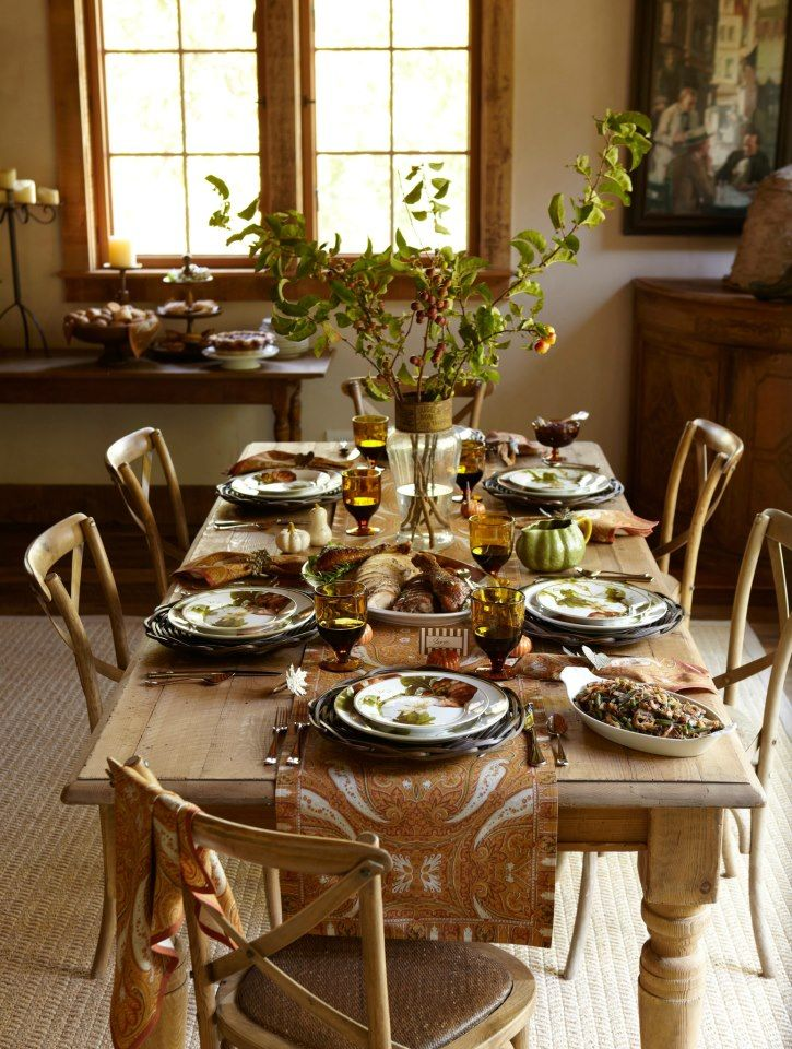 114 best The Thanksgiving Table images on Pinterest | Thanksgiving ...