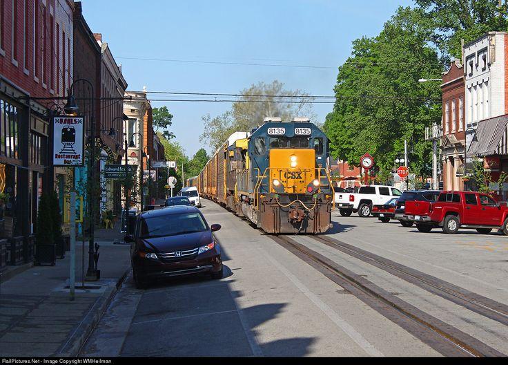 RailPictures.Net Photo: CSXT 8135 CSX Transportation (CSXT) EMD SD40-2 at LaGrange, Kentucky by WMHeilman