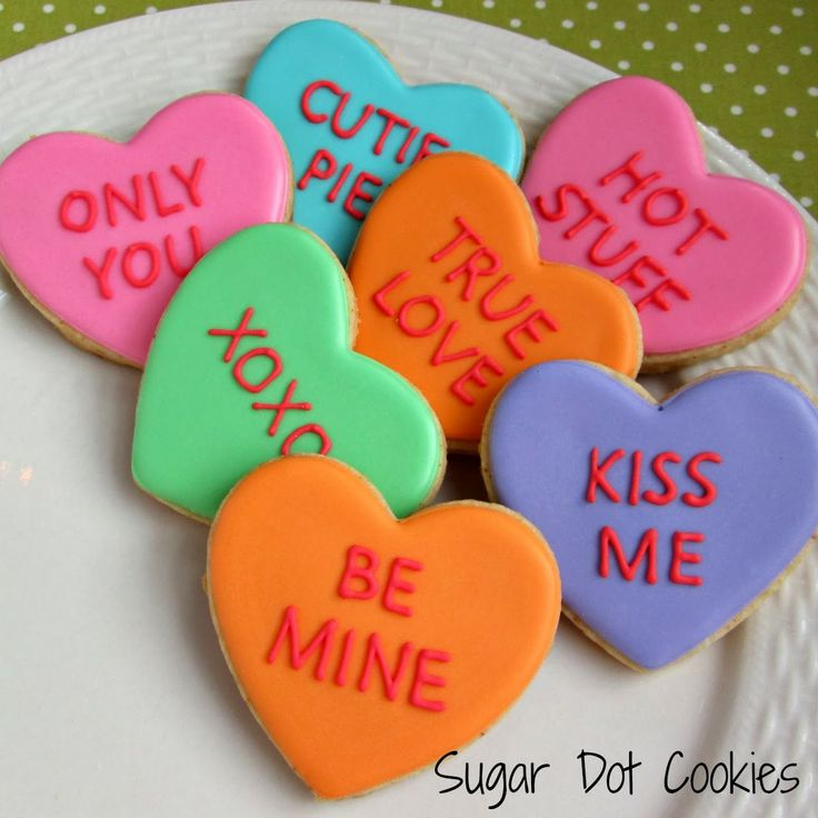 111 best Valentine's Day - Biscuits images on Pinterest ...